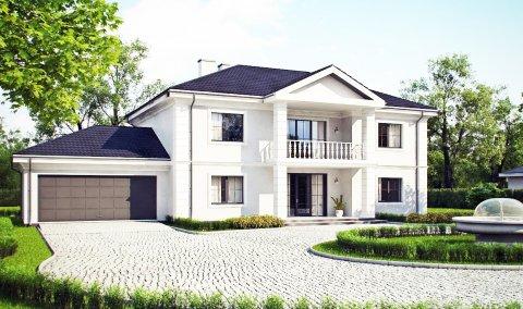 355м2 дом в1
